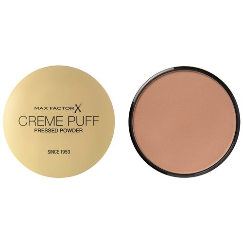 Max Factor Creme Puff пудра компактная Pressed Powder 42 Deep beige компактная пудра basics smoothing silky pressed powder 11г 501 cool beige