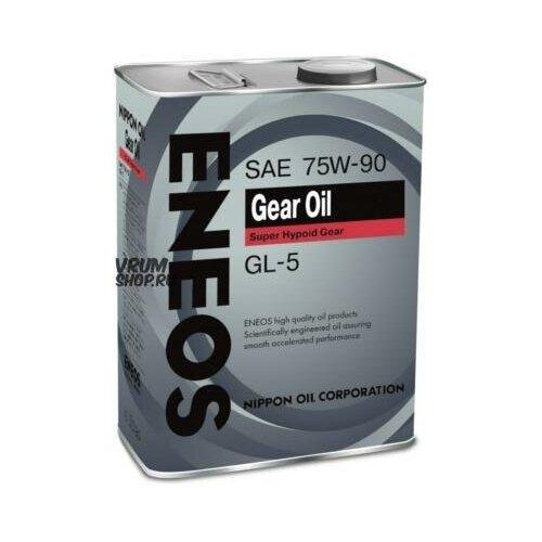 ENEOS OIL1370 Масло трансмиссионное ENEOS Gear 75W90 GL5 4 л