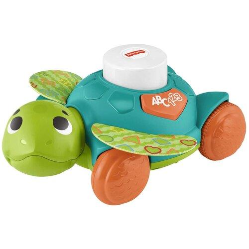 Купить Развивающая игрушка Fisher-Price Линкималс Морская черепаха HDJ17, зелeный, Развивающие игрушки