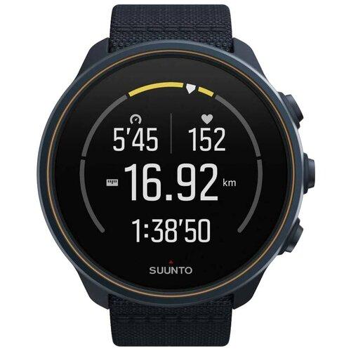 Умные наручные часы Suunto SS050565000 9 Baro Granite Blue Titanium