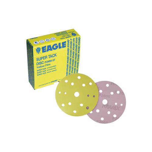 Абразивные круги Kovax Yellow Film Р800 15 отверстий 152мм (упаковка 50шт.)