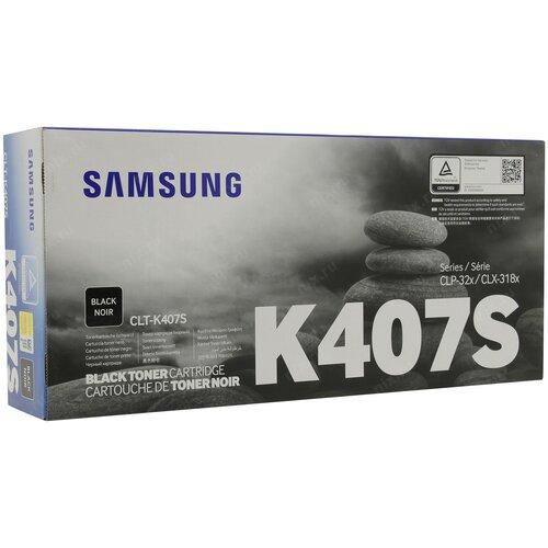 Фото - Картридж лазерный SAMSUNG CLT-K407S черный (1500ст картридж лазерный samsung clt y506s желтый 1500ст