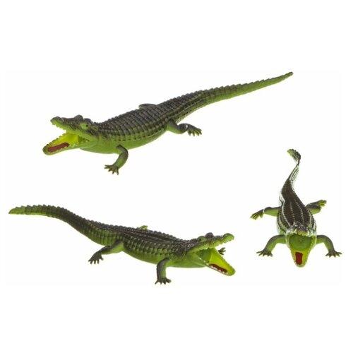 Купить Фигурка BONDIBON Ребятам о Зверятах Крокодил-пищалка ВВ1625, Игровые наборы и фигурки