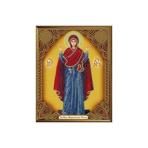 Алмазная живопись Набор алмазной вышивки Икона Нерушимая стена (АЖ-5018) 22x28 см