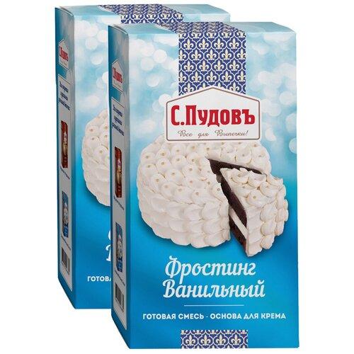 С.Пудовъ фростинг ванильный (2 шт. по 100 г) белый 2 шт.