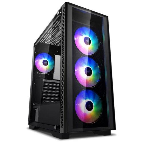 Игровой компьютер MainPC 101017 Midi-Tower/Intel Core i3-10100F/8 ГБ/480 ГБ SSD+2 ТБ HDD/NVIDIA GeForce GTX 1660/Windows 10 Home черный