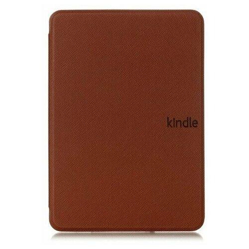 Чехол-обложка Skinbox UltraSlim для Amazon Kindle 10 с магнитом (коричневый)