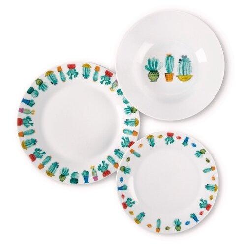 Набор из 18 тарелок