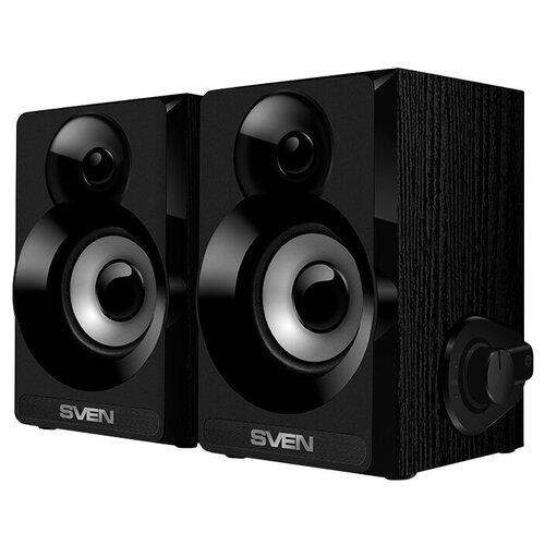 Компьютерная акустика SVEN SPS-517 черный портативная акустика sven ps 68 черный
