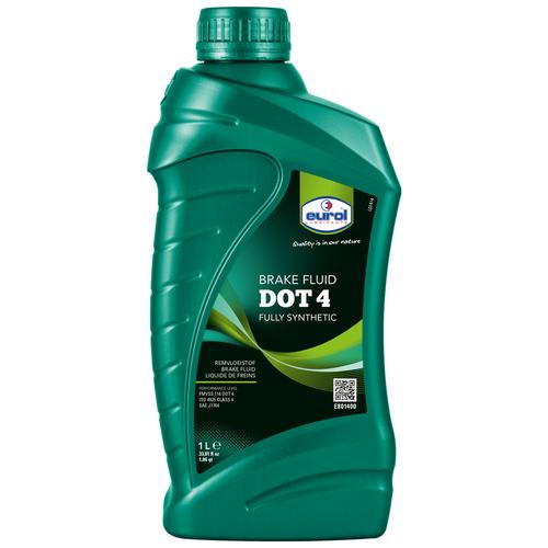 Тормозная жидкость Eurol DOT 4 1 л