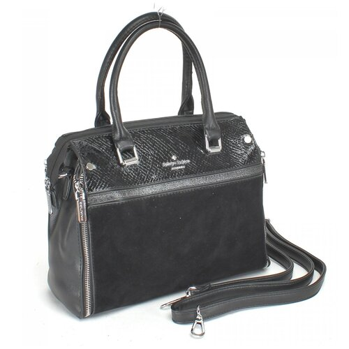 Женская сумка-тоут экокожа(искусственная кожа) + натуральная замша Kenguluna 531878