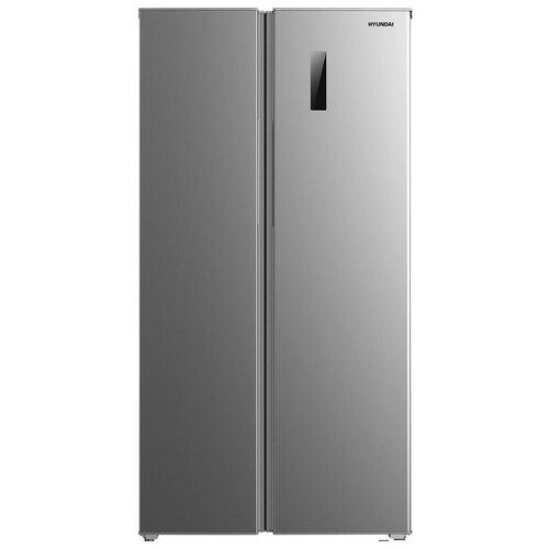Холодильник Side by Side Hyundai CS5005FV нержавеющая сталь