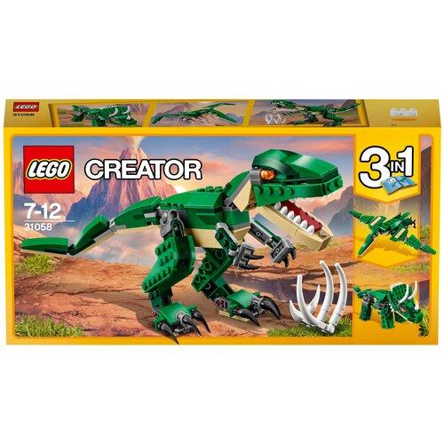 Фото - Конструктор LEGO Creator 31058 Могучие динозавры lego creator городской магазин игрушек 31105