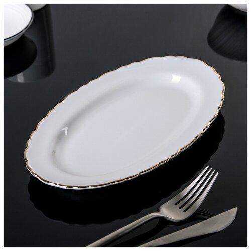Тарелка овальная 23 см 3002