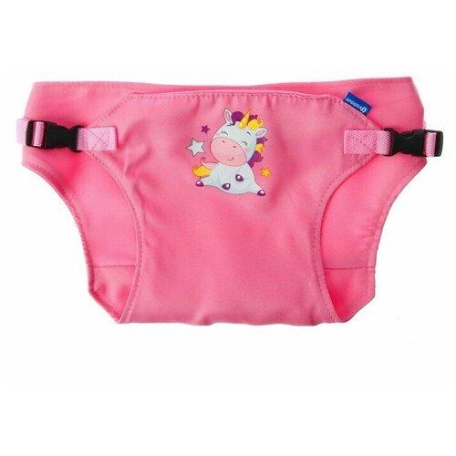 Купить Крошка Я Детский пояс-фиксатор Любимая Дочка , регулируемые ремни, цвет розовый, Аксессуары для безопасности