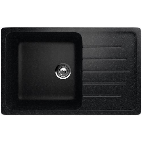 Фото - Врезная кухонная мойка 75 см EcoStone ES-19 308 черный врезная кухонная мойка 103 см ecostone es 29 308 черный