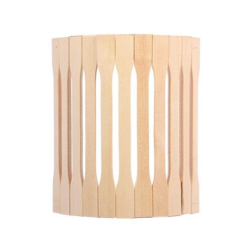 Абажур для светильника, угловой, липа, 31х10х27см