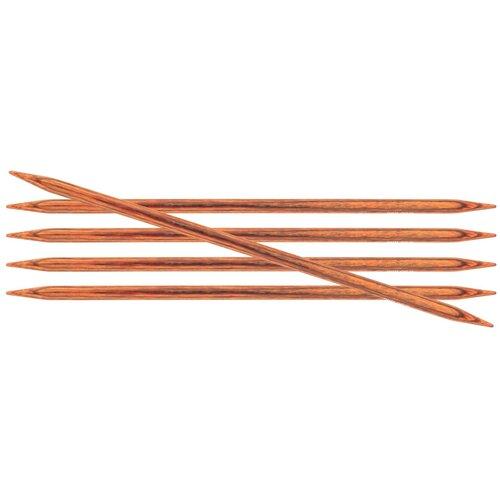Купить Спицы Knit Pro Ginger 31034, диаметр 8 мм, длина 20 см, коричневый