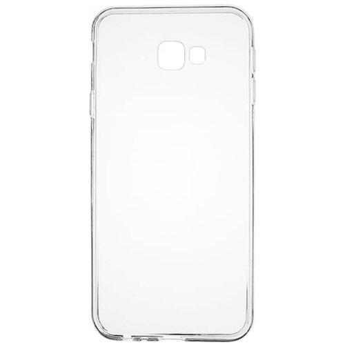 Силиконовый чехол прозрачный Samsung J4 Plus