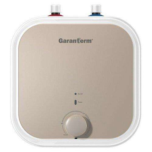Фото - Накопительный электрический водонагреватель Garanterm Plus 15 U, белый/бежевый водонагреватель аккумуляционный электрический garanterm plus 10 o