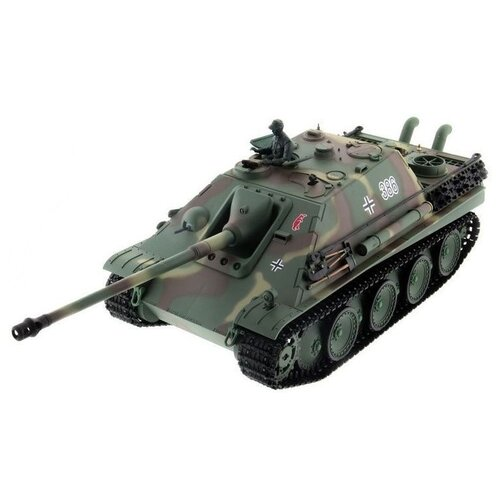 Фото - Радиоуправляемый танк Heng Long Jagdpanther Original V6.0 2.4G 1/16 RTR радиоуправляемый танк heng long радиоуправляемый мини танковый бой cs toys 9819