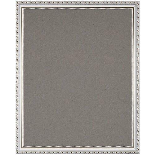 Купить Рама багетная для картин VIDA-ART 40х50см, со стеклом и картоном, цвет: белый, Рамки