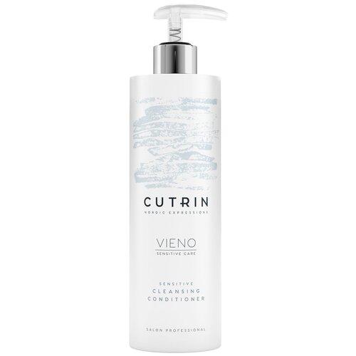 Cutrin кондиционер для волос Vieno Деликатный очищающий без отдушки, 400 мл cutrin деликатный шампунь для чувствительной кожи головы без отдушки 250 мл cutrin vieno