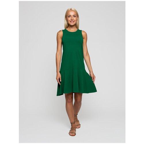 Женское легкое платье сарафан, Lunarable зеленое, размер 42