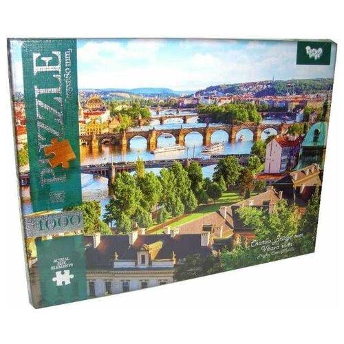 Пазл Danko Toys Городская река (C1000-09-02), 1000 дет. пазл danko toys городская река