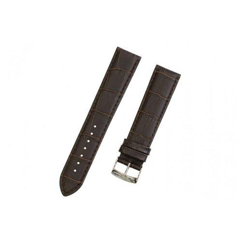 Коричневый кожаный ремешок TISSOT T-Classic PR 100 T600037009 - L (120 / 80 мм) T101.407.16.071.00, T101.410.26.031.00, T101407, T101410, T101451 для часов TISSOT 0 pr на 100
