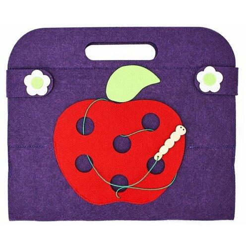 Настольная игра SmileDecor Сумка-игралка Овощи, фрукты и ягоды настольная игра smiledecor сумка игралка овощи фрукты и ягоды