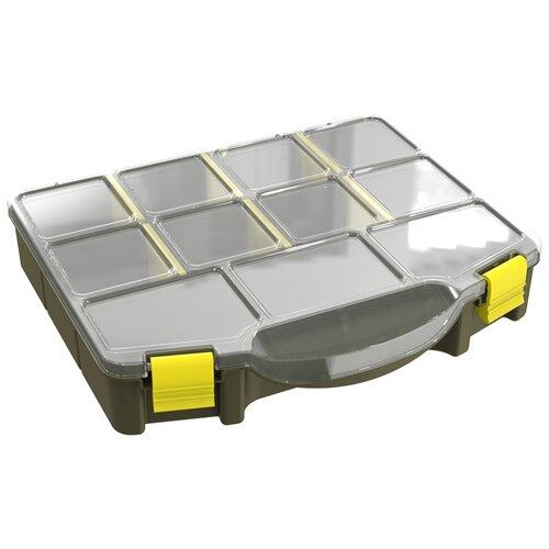 Органайзер для мелочей Berossi с мобильными перегородками, размер 220х190х40, цвет милитари корзинка для мелочей 14 40с berossi мята