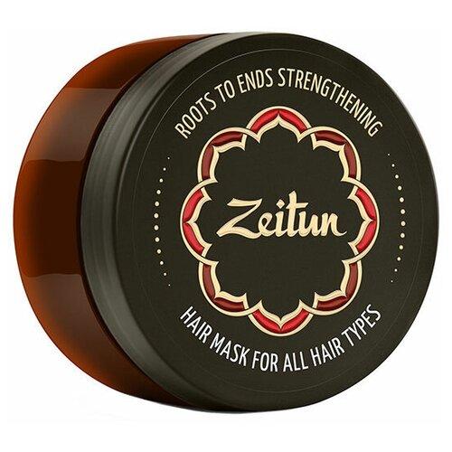 Купить Zeitun Маска для волос Укрепление по всей длине с маслом усьмы, жожоба и целебными травами, 200 мл