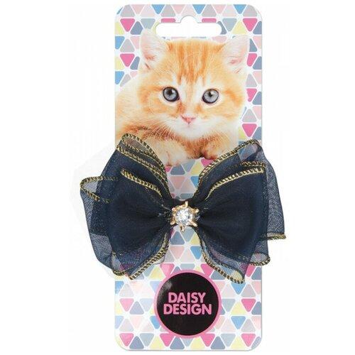 Зажим Daisy Design Kittens. Бонни черный аксессуары daisy design набор аксессуаров для волос kittens дымка