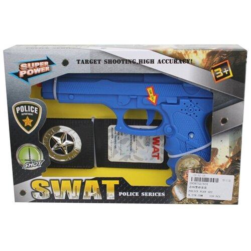Игровой набор Shantou Gepai Полиция 631 набор для плетения shantou gepai 21011 от 8 лет 600 шт