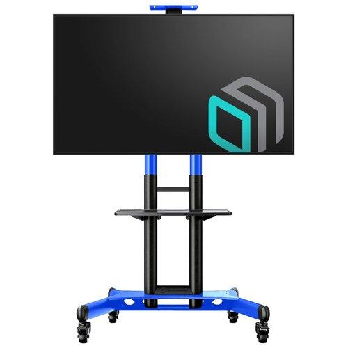 Фото - Стойка ONKRON TS1551 синий мобильная стойка под телевизор onkron ts1551 красная