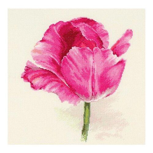 Фото - Набор для вышивания крестиком Алиса Тюльпаны, Малиновое сияние, 22*26 см (2-43) алиса набор для вышивания тюльпаны малиновое сияние 22 x 26 см 2 43