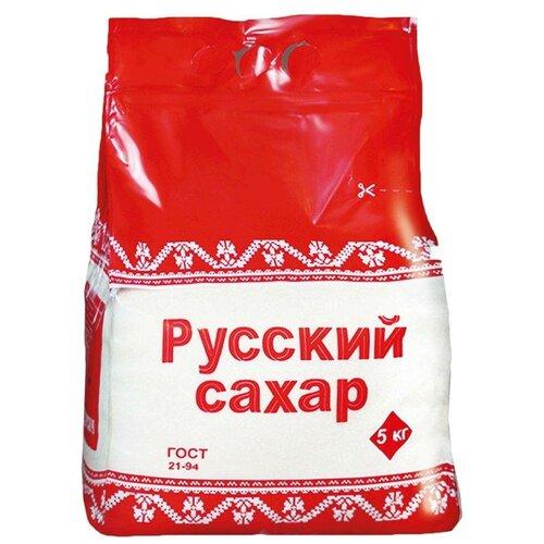 Сахар Русский сахар сахар-песок, 5 кг сахар мельница kotanyi корица сахар 37г