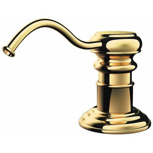 Дозатор для жидкого мыла OMOIKIRI OM-01, золото