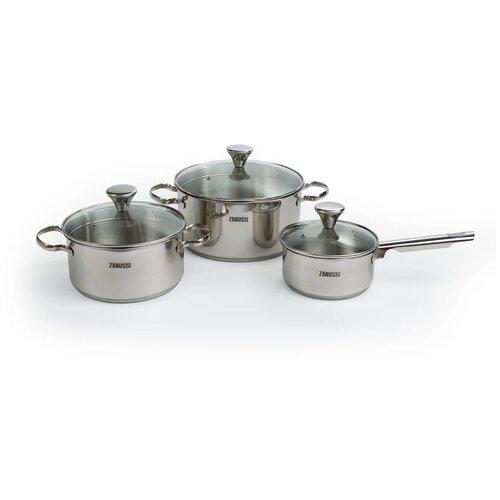 ghali padova Набор посуды Zaпussi Padova из нержавеющей стали, 6 предметов