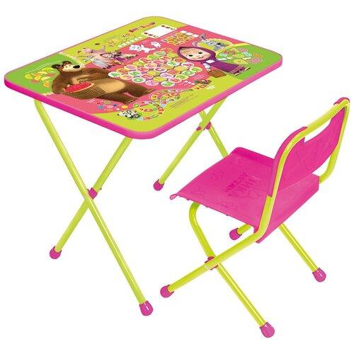 Комплект детской мебели Познайка Азбука 1 Маша и медведь, возраст 1,5-3 года