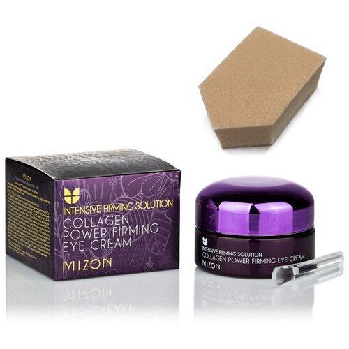 Купить MIZON Коллагеновый крем для глаз COLLAGEN POWER, 25мл + спонж