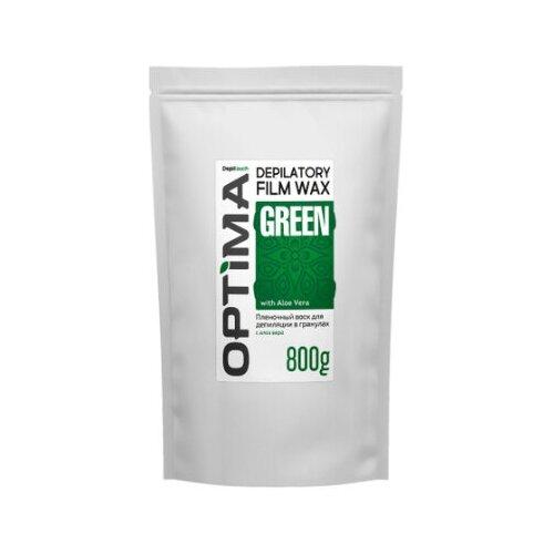 Купить Depiltouch Пленочный воск для депиляции в гранулах OPTIMA «GREEN», 800 гр.