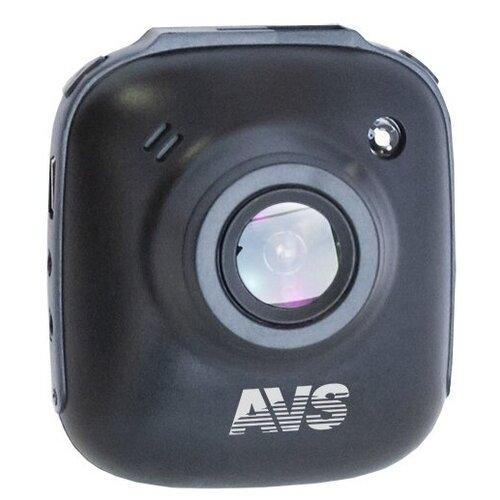 Видеорегистратор AVS VR-725FH, черный видеорегистратор avs vr 802shd черный