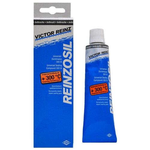 Силиконовый герметик для ремонта автомобиля VICTOR REINZ Reinzosil 70-31414-10, 70 мл антрацит
