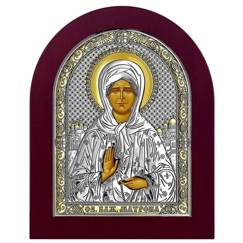 Икона Святая Матрона Московская 6402 (ОW/WO), 28.6х34.7 см по цене 7 840