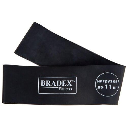 Эспандер лента BRADEX SF 0344 (нагрузка до 11 кг) 60 х 5 см черный