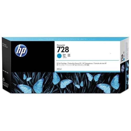 Фото - Картридж струйный HP №728 F9K17A, cyan hp 728 f9j67a голубой