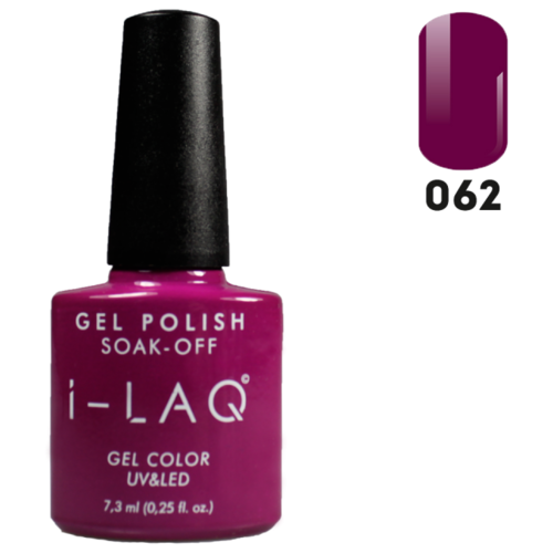 Купить Гель-лак для ногтей I-LAQ Gel Color, 7.3 мл, 062