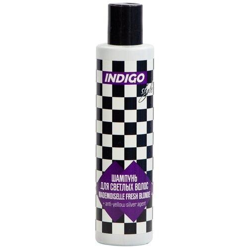 Indigo Style шампунь Mademoiselle Fresh Blonde для светлых волос с серебристым агентом, 200 мл